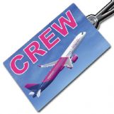 Wizz Air A321 Crew Tag